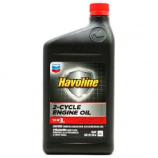 Chevron Havoline 2-Cycle Engine Oil TC-W3